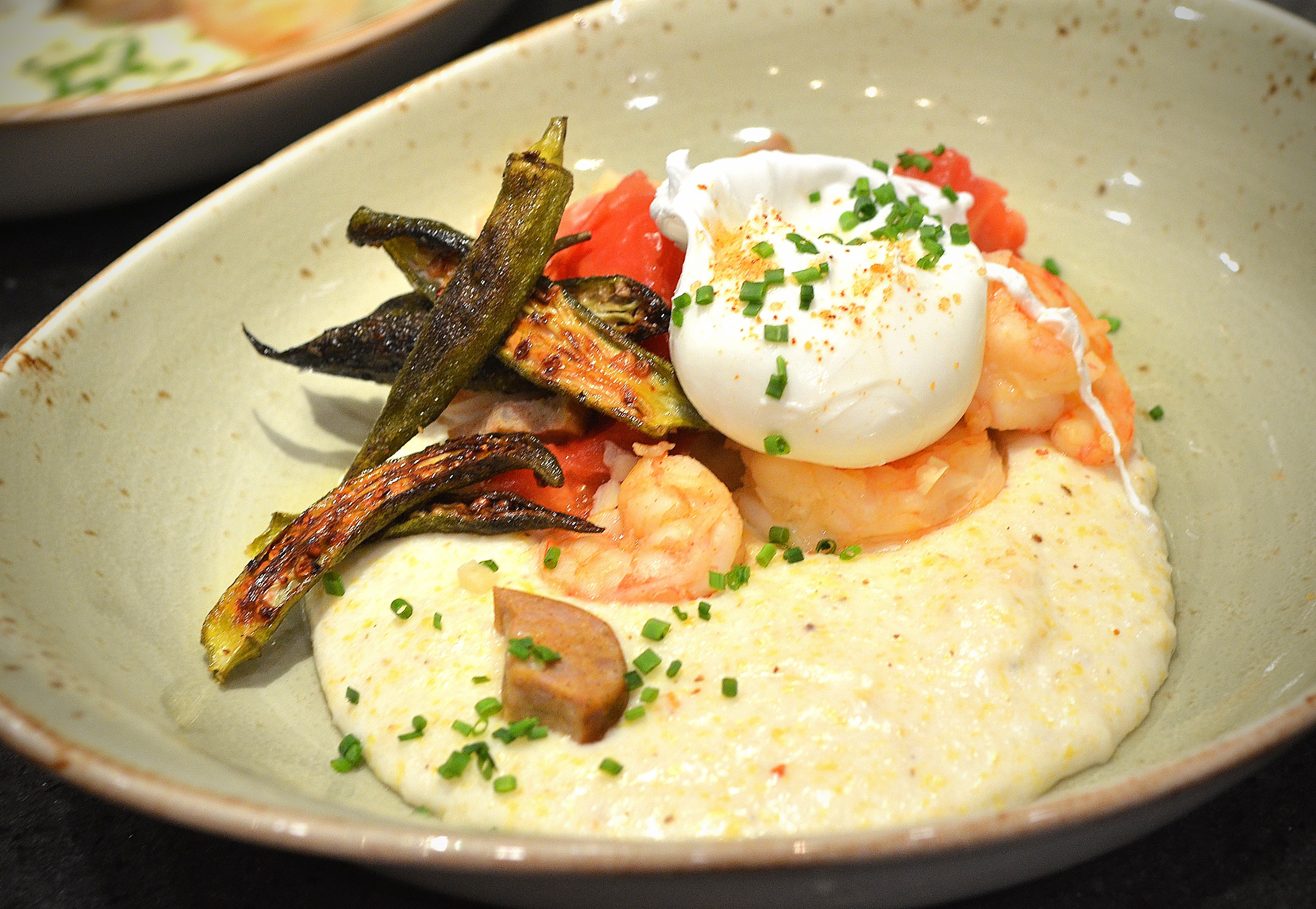 Jekyll Island: Shrimp and Grits